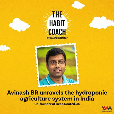 Avinash BR unravels the hydroponic agriculture system in India